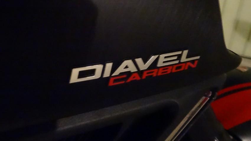 Diavel Carbon de David Jazt