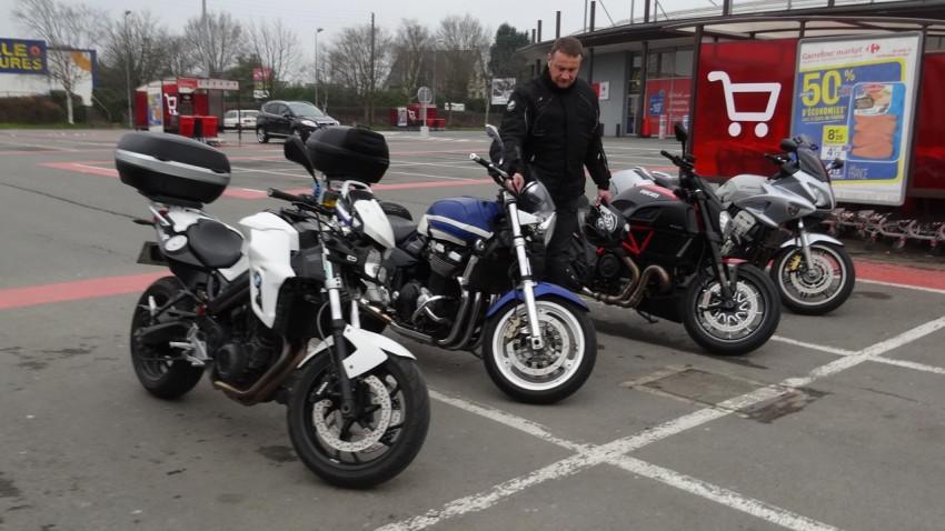 sortie moto à Dinan (Côtes d'Armor)
