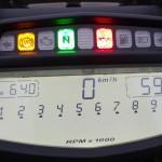 tableau de bord Dashboard 1 sur le Diavel
