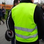 Gilet jaune obligatoire pour les motards