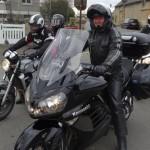 Didier, motard Rennais en Kawasaki GTR 1400