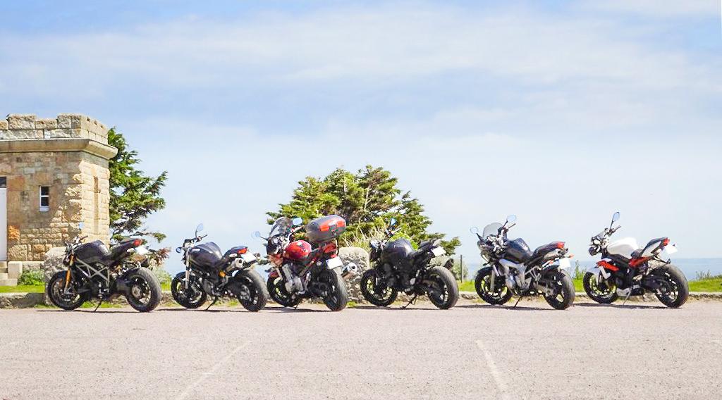 Sortie moto au Cap Fréhel