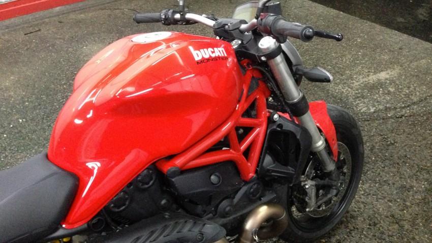 Ducati Monster huit cent vingt et un
