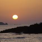 couché de soleil sur Saint-Malo (Bretagne)@