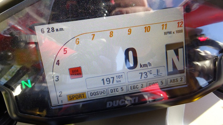 Tableau de bord Ducati 1299 S Panigale