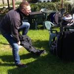 pas de pantalon de pluie pour la balade moto du 19 avril