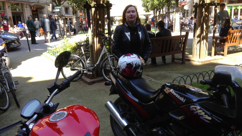 Saint-Malo intra muros à moto