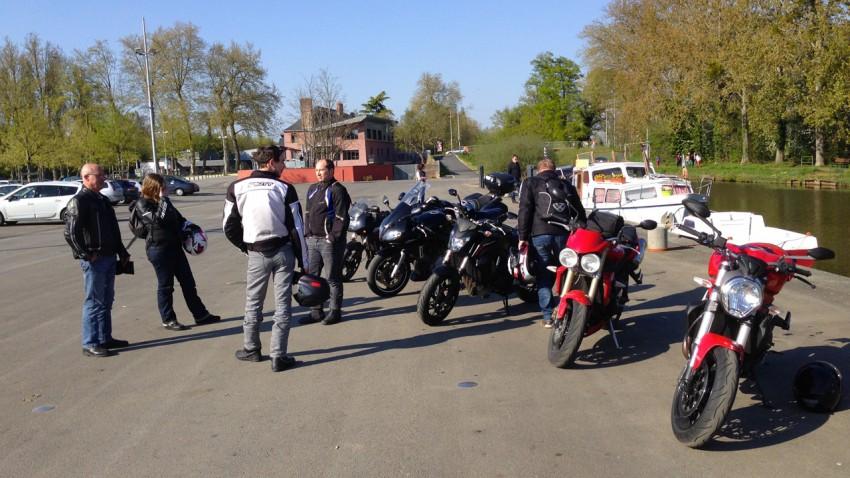 groupe de moto à Betton