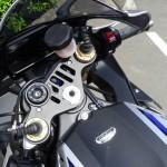 tableau de bord sur le R1M Yamaha