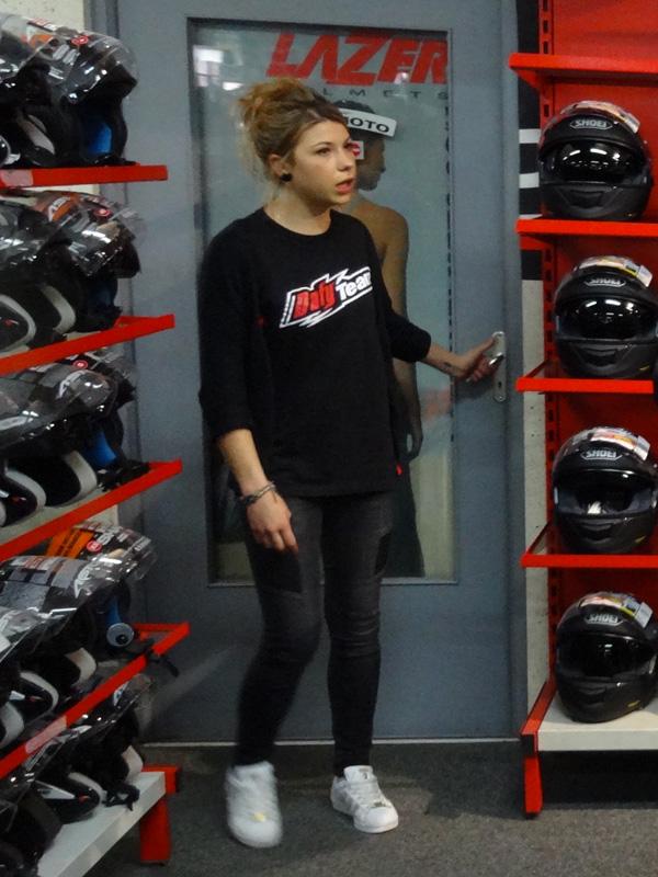 conseil vendeur casque moto chez Dafy moto Rennes