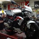 moto Triumph Street Triple chez Dafy moto