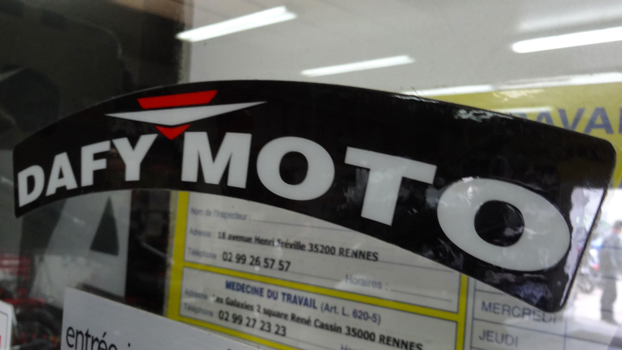 Dafy moto Rennes
