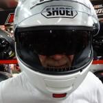 essai casque moto neotec blanc