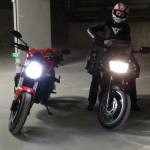 départ de rennes à moto