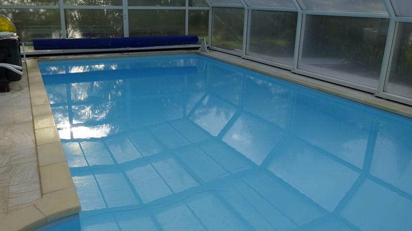 piscine privée en chambre d'hôtes à Fouesnant
