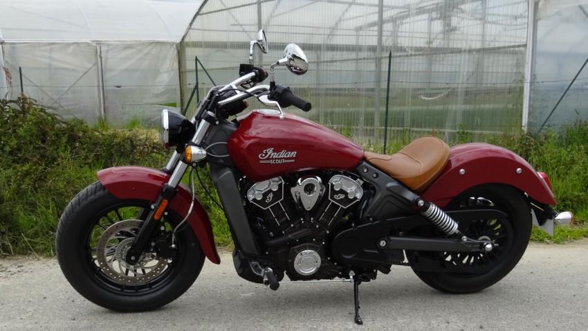 Scout, une moto custom
