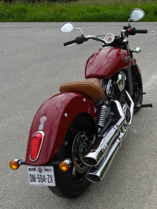 vie à bord : indian scout