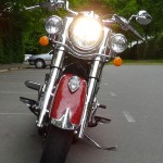 phare additionnel sur Indian Chief Classic