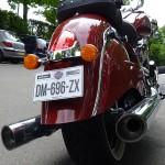 faire un tour de moto sur une Indian