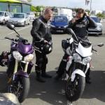 moto sportive sans bulle