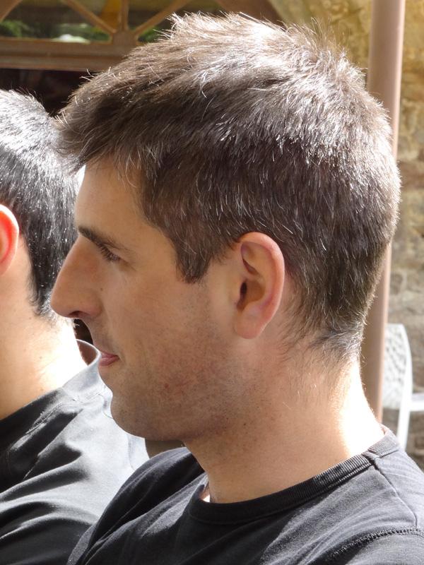 Ludovic, motard Rennais