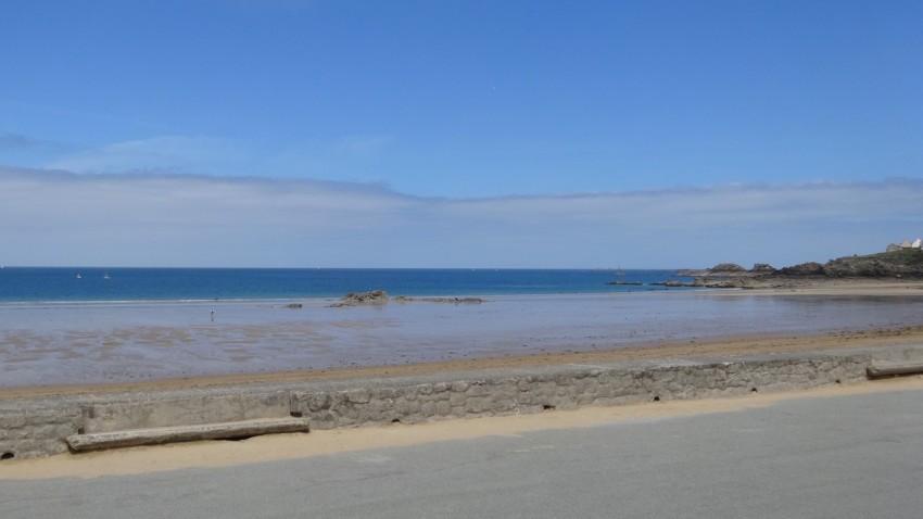 vue mer à St Lunaire
