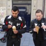 manger une glace à Saint-Malo