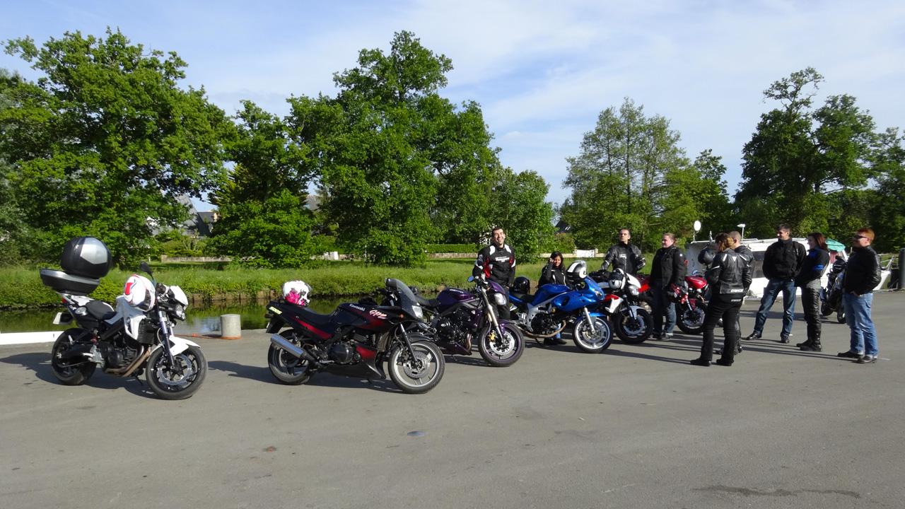 motard à Betton près de Rennes