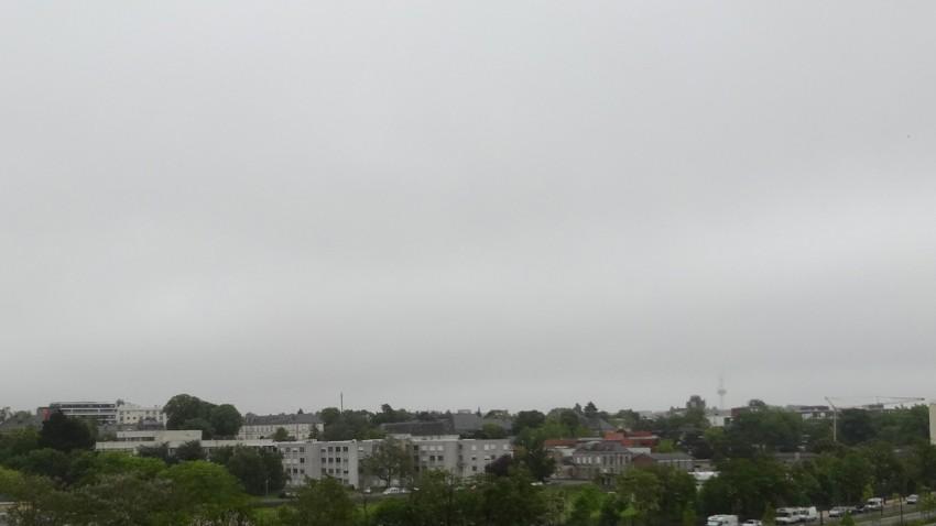 temps maussade à Rennes