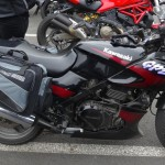 Kawasaki GPZ 500 de Laura