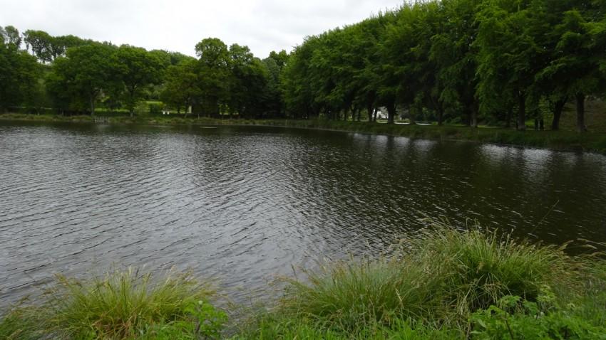 étang et pêche à la truite à Corlay