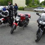 photo des motos à Corlay