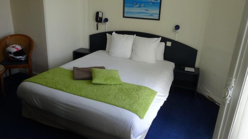chambre de l'hôtel de Perros Guirec