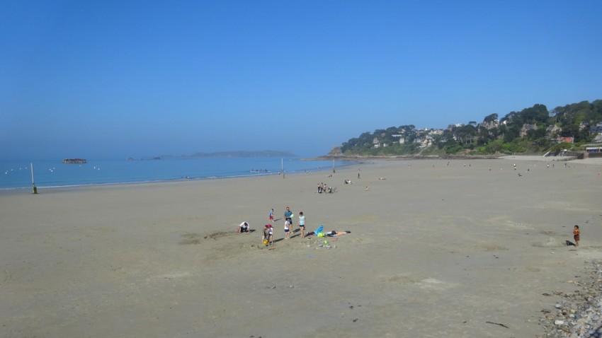 plage en côte d'Armor