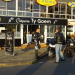 motard Rennais en Bretagne (côte d'armor)