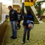 ambiance au grand hôtel de Perros-Guirec