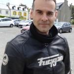 Motard Rennais en cuir moto : Jean-Claude