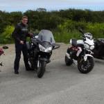 motards Rennais en Bretagne au Cap de la Chèvre