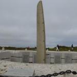 hommage aux marins disparus au cap de la chèvre (Finistère)