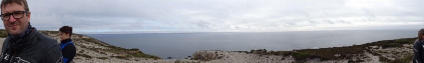 vue panoramique au cap de la chèvre