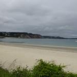 plage à Morgat, dans le Finisitère
