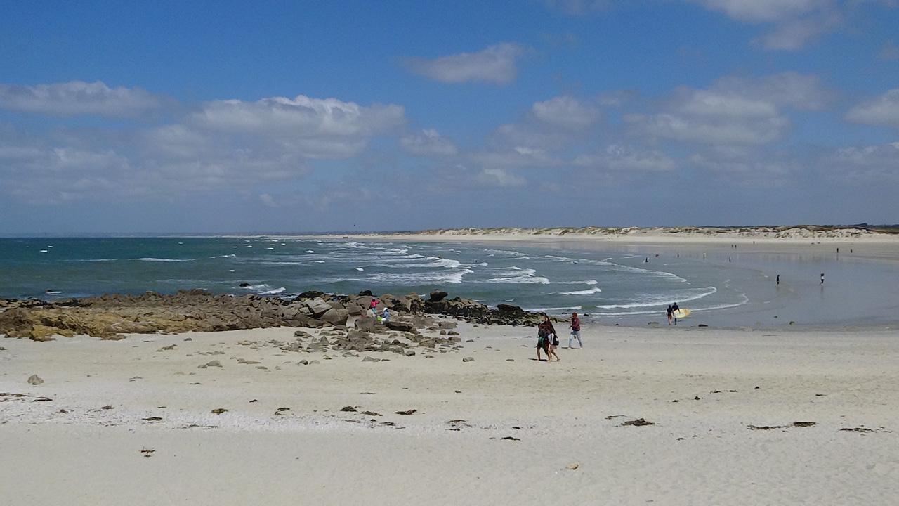 Spot de Surf : Pointe de la torche (Finistère sud)