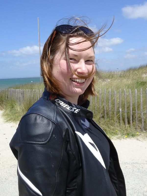 Laura, motarde Rennaise