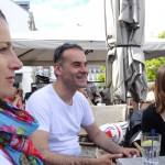 Magda, Jean-Claude et Laura à Concarneau