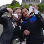 Laura (mamzelle Laura) et Magdalena les motardes Rennaises