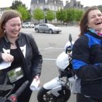 Laura et Magda à Pontivy