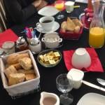 petit déjeuner en chambre d'hôtes