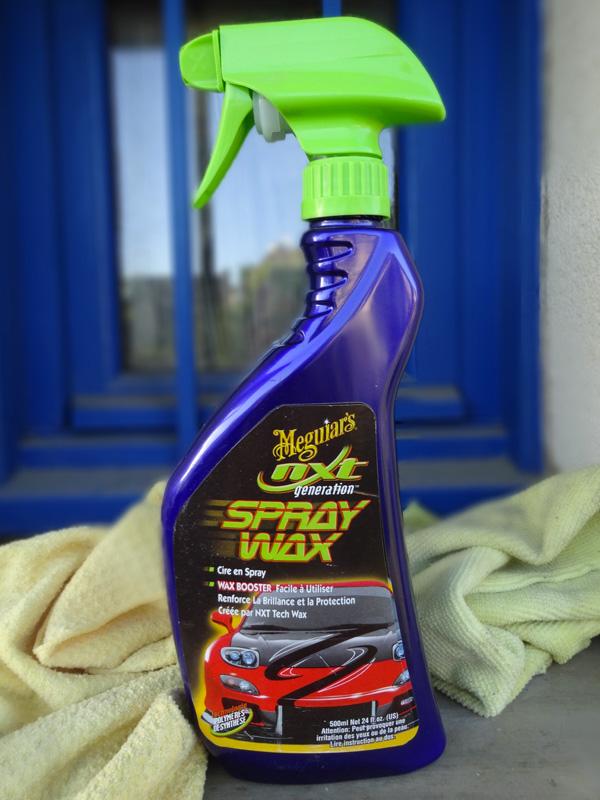 Spray Wax, le lustreur pour une parfaite finition de la peinture