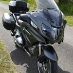 moto BMW, le pied !