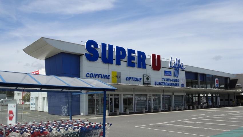 Super U de liffré, juin 2015